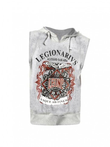 Felpa smanicata Leone Legionario Legio11