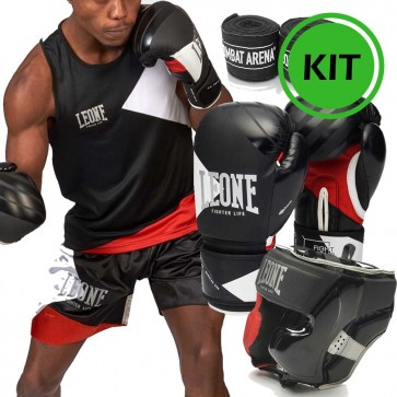 Kit Leone Fighter Life uomo