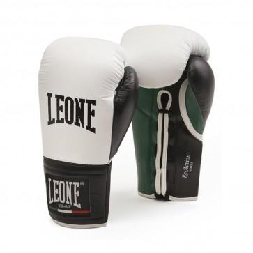Guantoni Leone Re-action Bianco con lacci GN054L