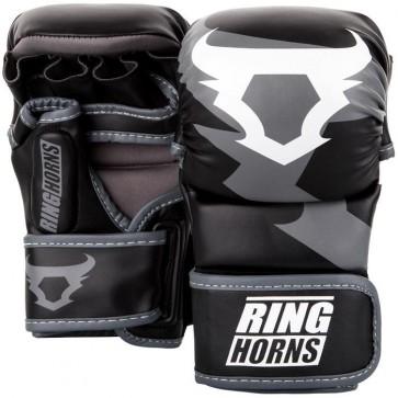 Guanti da MMA Sparring 7 Oz Ringhorns Charger Nero/grigio
