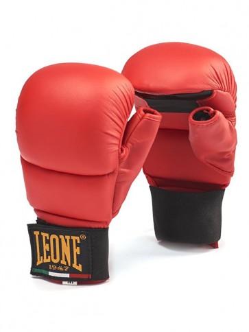 Guanti da Karate-Kumite e Fit Boxe Leone GK094 Rosso
