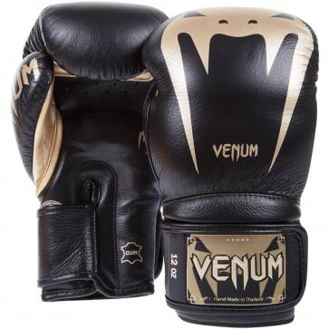 Guantoni da Boxe Venum Giant 3.0 Nero-Oro dorso palmo