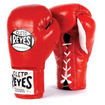 Guantoni Cleto Reyes Professional Rosso con lacci