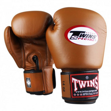 Guantoni Muay Thai Twins Special BGVL3 Retro Marrone