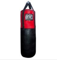 Sacco da boxe Cleto Reyes Nero-rosso 96 cm