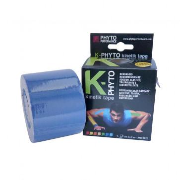 Nastro kinesiologico K-Phyto Kinetik Tape blu