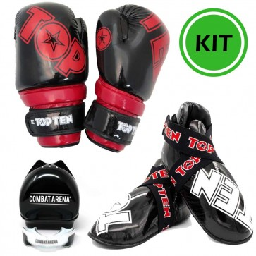 Kit Kick Boxing Semi Contact Glossy Top Ten
