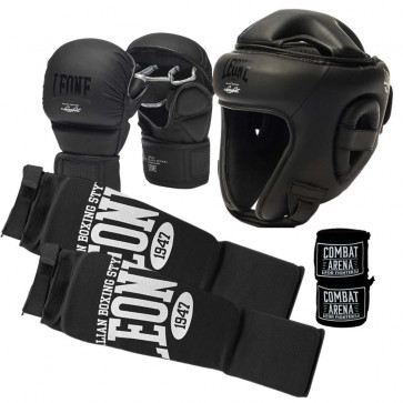 Kit MMA Leone Black Edition