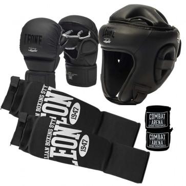 Kit MMA Leone Black Edition