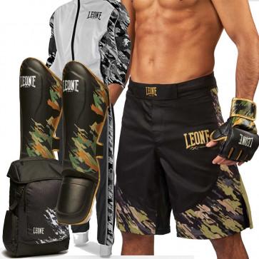 Kit Completo MMA Leone Military Edition