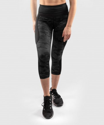 Leggings donna 3/4 Venum Defender - Nero-nero