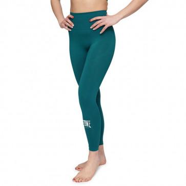 Leggings donna Leone Logo W ABX125 verde sinistra