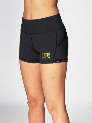 Pantaloncini a compressione donna Leone ABXE52 visione anteriore