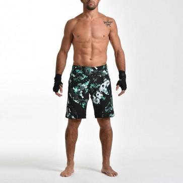 Pantaloncini da MMA Grips Miura Greenwood Camo 2.0