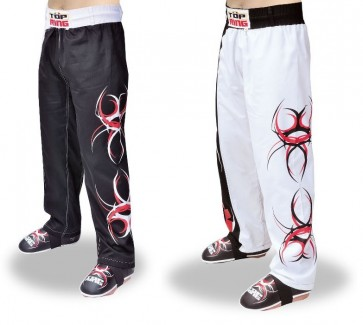 Pantaloni Lunghi Kick Boxing Top Ring Tribale Art. 280