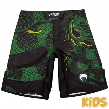 Pantaloncini bambino Venum Green Viper nero-verde