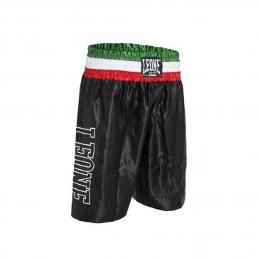 Pantaloncini da Boxe Leone AB733 Nero