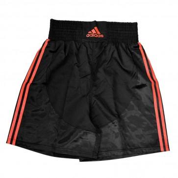 Pantaloncini da boxe Adidas Nero-Rosso