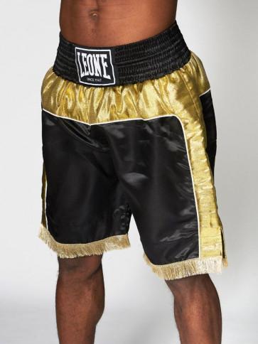 Pantaloncini Leone Legend nero-oro davanti