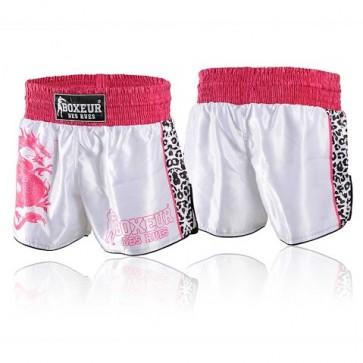 Pantaloncini da Thai e Kick Boxeur Des Rues Dragon Fuxia BXT-1399