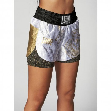 Pantaloncini donna kick thai Leone Nefertiti AB570