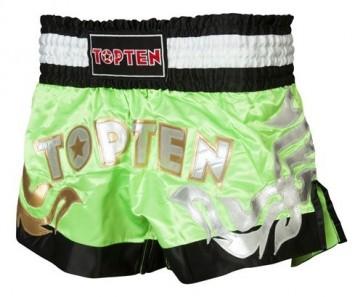 Pantaloncini da kick boxing Top Ten Neon