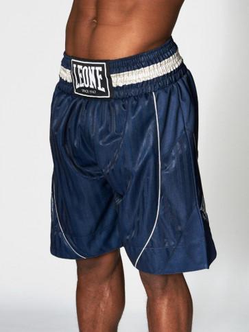 Pantaloncini da boxe Leone Premium AB240 blu