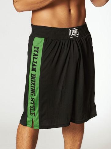 Pantaloncini da boxe Leone AB739 neri - vista lato destro