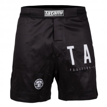 Pantaloncini MMA No-Gi Tatami Fightwear Preto