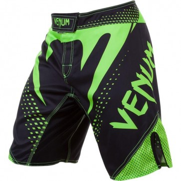 Pantaloncini MMA Venum Hurricane Black Neo Yellow