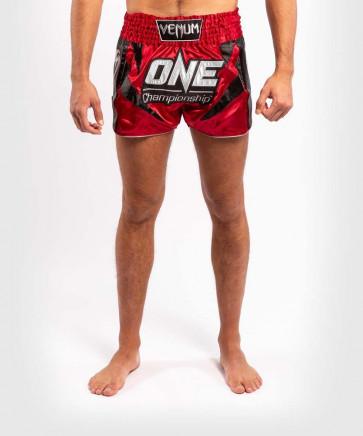 Pantaloncini thai-kick Venum X ONE FC Rosso