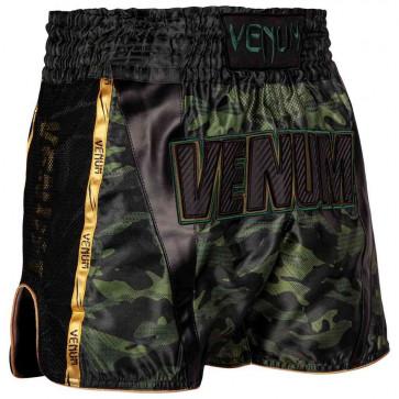 Pantaloncini Venum Full Cam verdi davanti