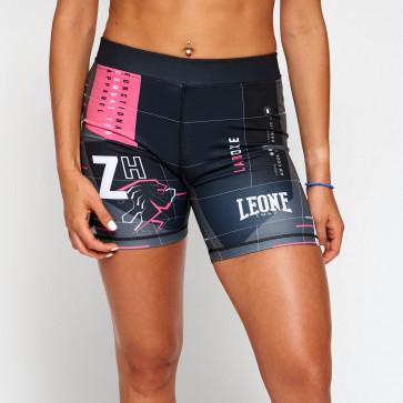 Pantaloncini donna Leone Zenith W AB807 a compressione