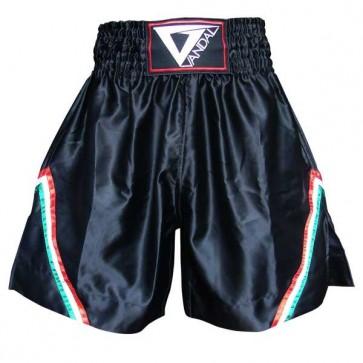 Pantaloncini da Muay Thai e Kick Boxing Vandal K1 Neri