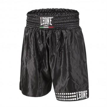 Pantaloncino da Boxe Leone AB737 Nero