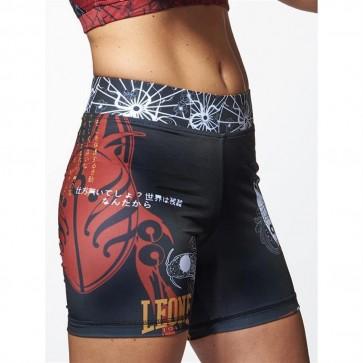 Pantaloncino donna compressione Leone Kitsune AB809