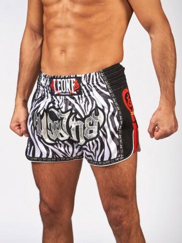 Pantaloncini Kick-Thai Leone Bangkok zebra AB754Z