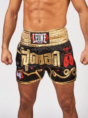 Pantaloncini Kick-Thai Leone Phuket AB874 Oro
