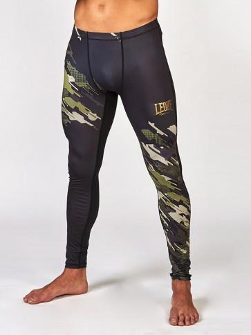 Pantaloni lunghi Leone Neo Camo a compressione ABX56