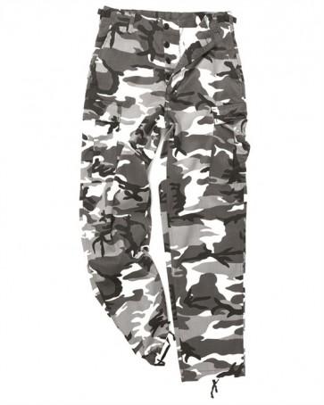 Pantaloni BDU Style Ranger Field Camo grigio