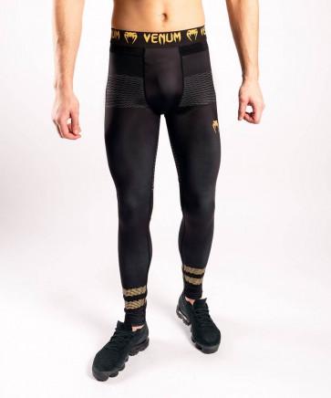Pantaloni a compressione Venum Club 182 Nero-oro