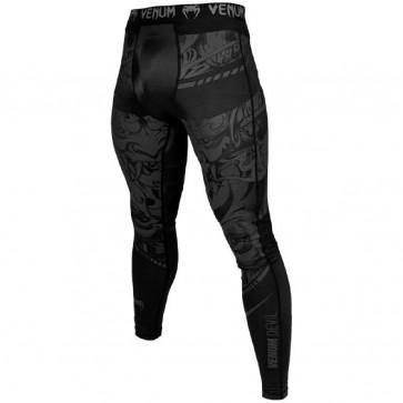 Pantaloni a compressione Venum Devil Nero