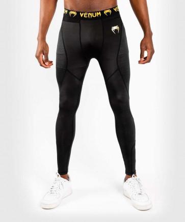 Pantaloni a compressione Venum G-Fit Nero-oro - davanti