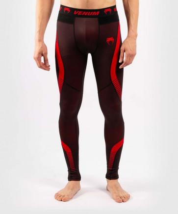 Pantaloni a compressione Venum No-Gi 3.0 - Nero-rosso