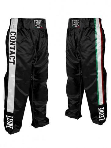 Pantaloni da kick boxing Leone Full AB758 Nero