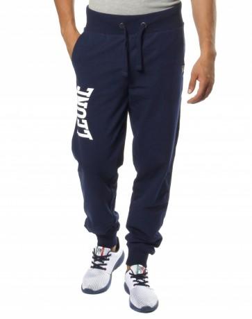 Pantaloni lunghi in felpa Leone LSM317 Blu Navy