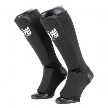 Paratibia a calza Super Pro Defender - Nero-bianco