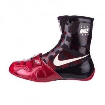 Stivaletti da boxe Nike Hyperko Nero-Rosso-Bianco