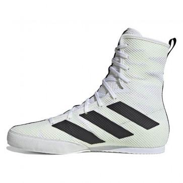 Scarpe da Boxe Adidas Box Hog 3 Bianco