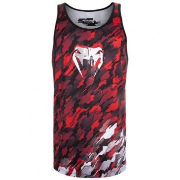 T-shirt smanicata Venum Tecmo Rosso